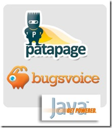 Patapage and BugsVoice made in java