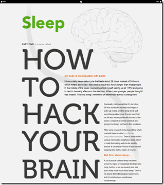 How To Hack Your Brain, Part 1- Sleep - Dustin Curtis_1266916351269