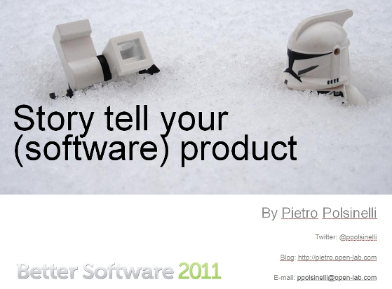 Story Tell Your Software
