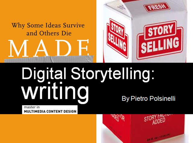 Digital Storytelling - Writing