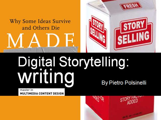 Digital Storytelling - Writing