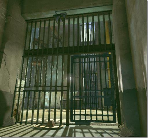 Dishonered prison